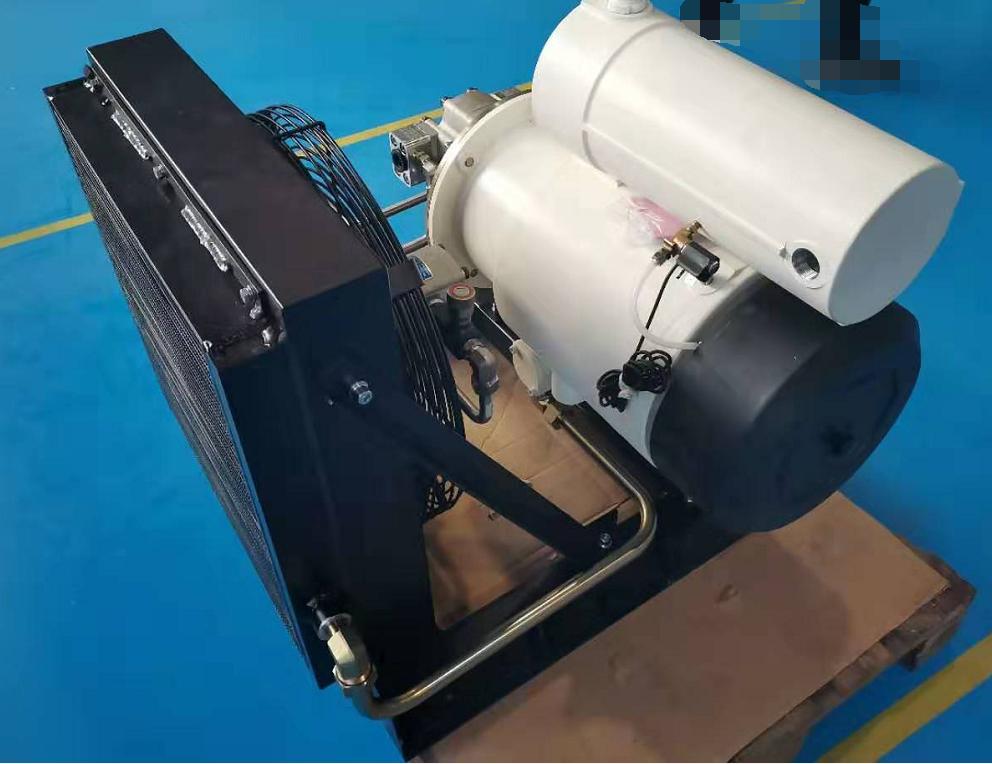 Nuevo AH serie de compresor de paleta rotativa accionado hidráulicamente