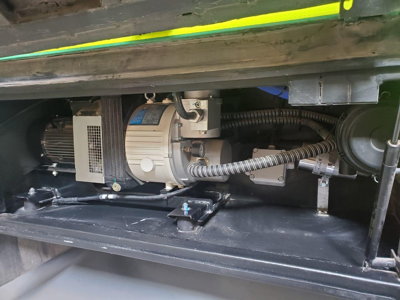 Naili compresores para autobuses se utiliza en Chile