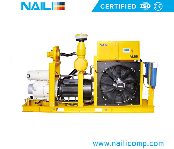 NAILI AL series for Alumimum Crane & Concrete Spraying Machine Vane Compressor