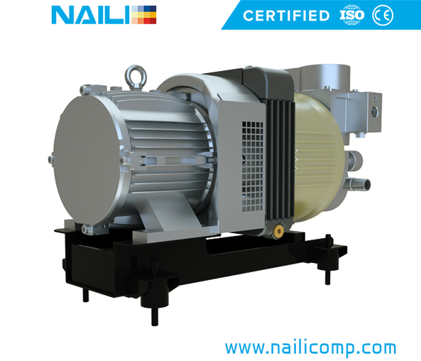 NAILI AZF series rotary vane compressor for Electrical vehicles
