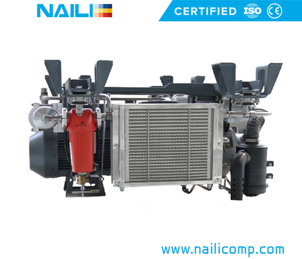 NAILI AGTU Series Rotary vane compressor for Motive transportation