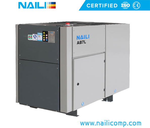 NAILI AB Series stationary Rotary Vane Air Compressor 7.5kw/10hp tp 55kw/70hp
