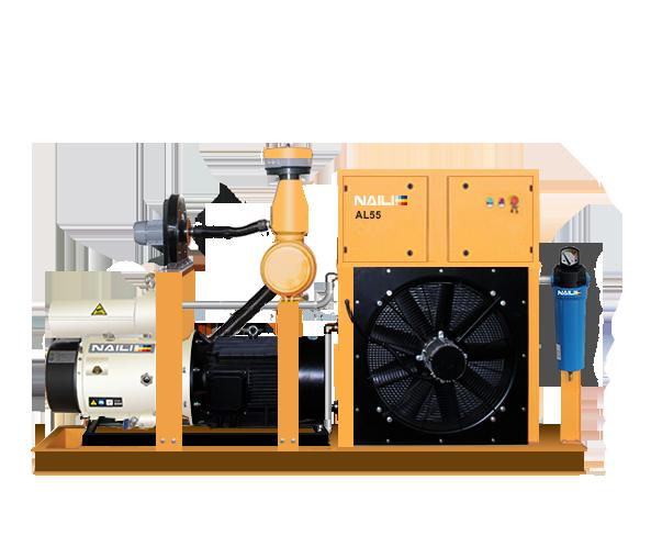 NAILI Serie AL compresores de paleta para la grúa Alumimum y la máquina de proyección de hormigón