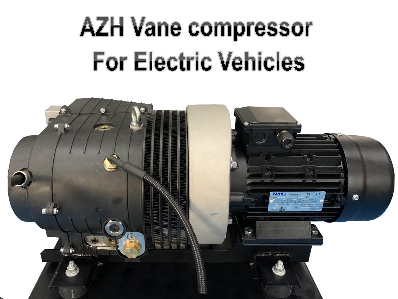 ¡El nuevo compresor serie AZH para vehículos eléctricos está mejor protegidos!