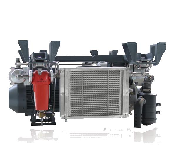 NAILI serie AGTU Compresor de paleta para transporte móvil