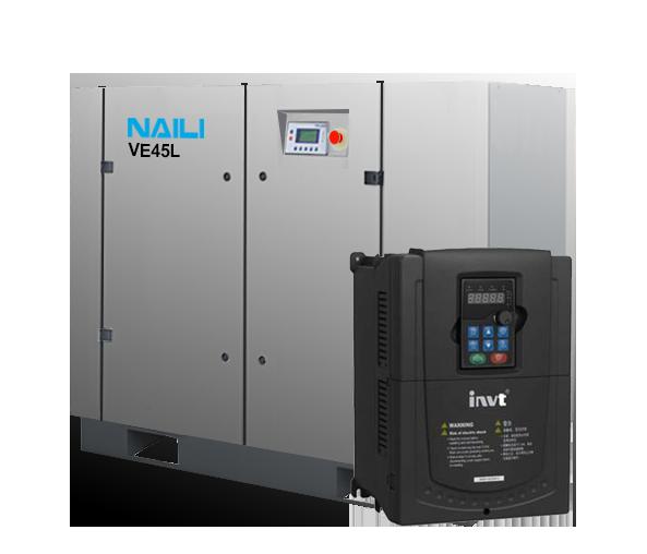 Compresor de aire de frecuencia variable VFD (VSD) de 10hp a 300hp