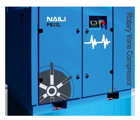 NAILI serie PB Compresores de paletas de bajo consumo energético